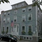 Ship's Inn, previously a historic captain's home in Nantucket Town