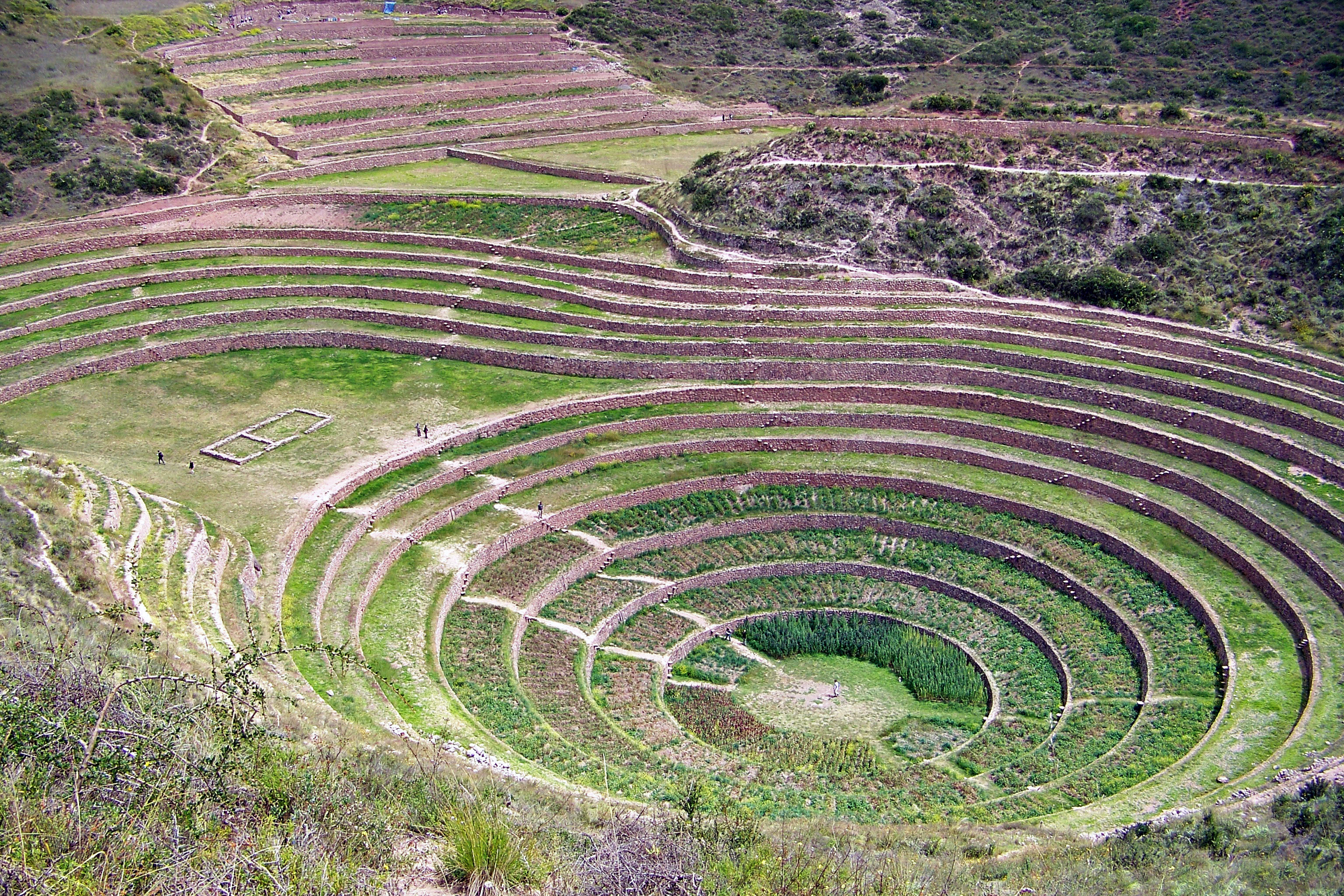 Inca agricultural lab at Moray