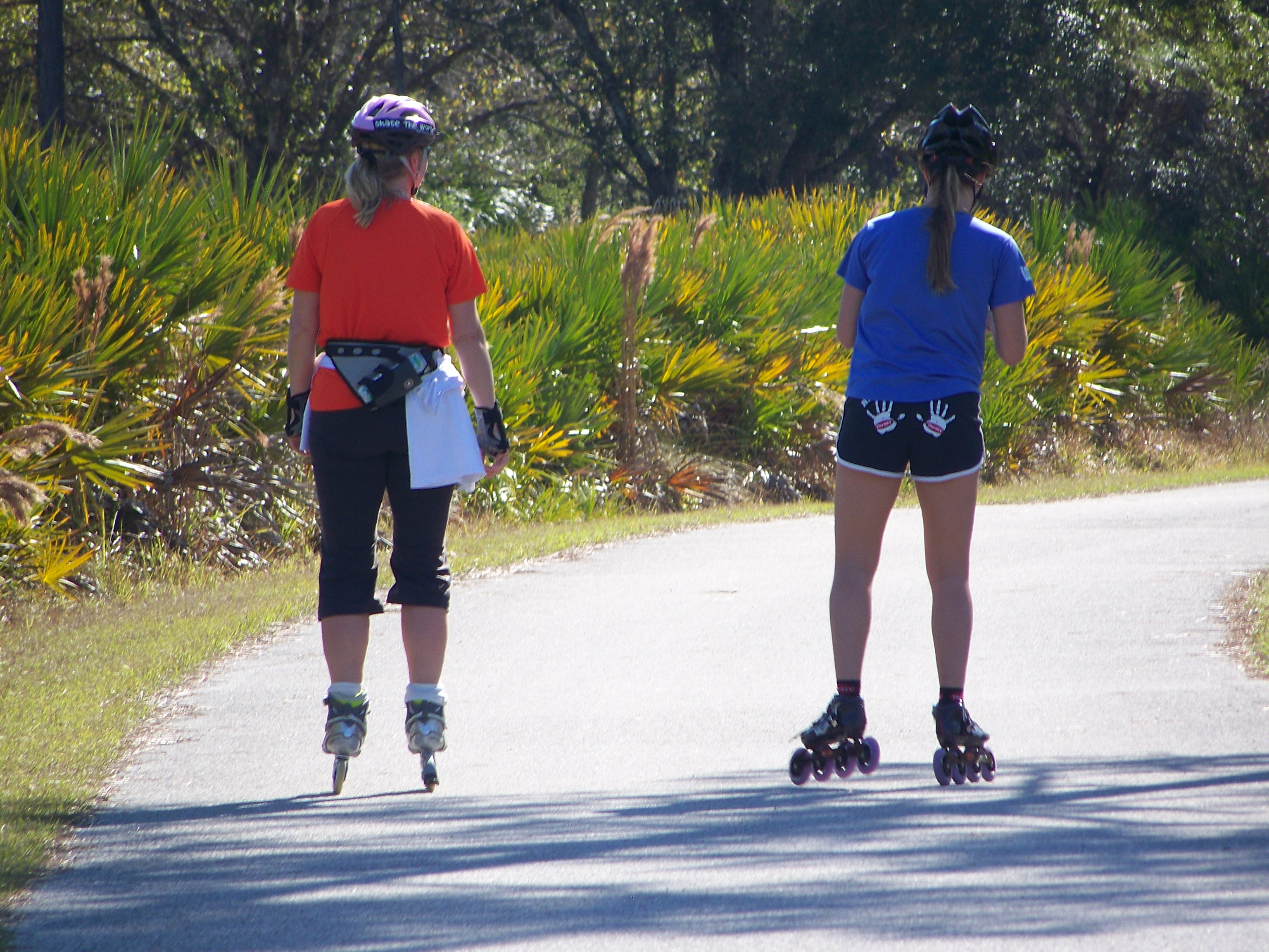 Skaters on the JB Starkey trail