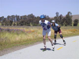 Jim and Liz on Coyote Creek Trail